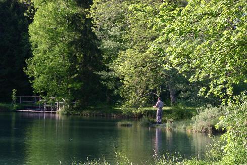 Pêche en Meuse