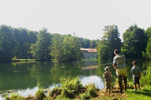 Pêche à Sommedieue - Meuse